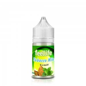 Tobacco mint nicotine salt e-liquid