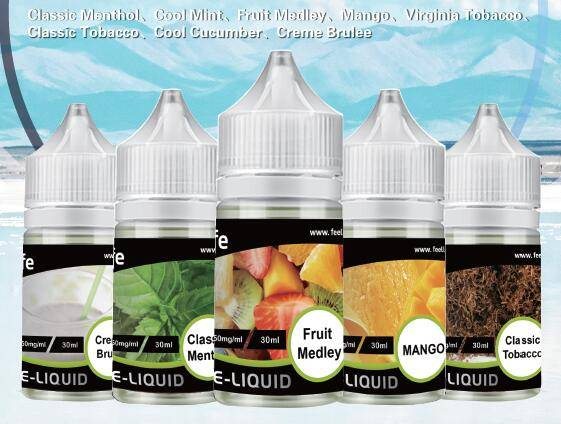 eJuice de sel de nicotine feellife