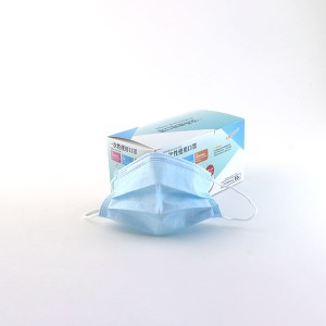Disposable medical masks, 3 layers, 50/bag