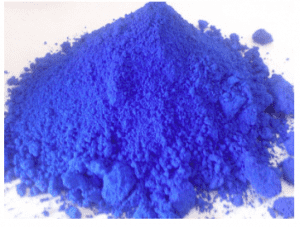 China produces ultramarine products for export