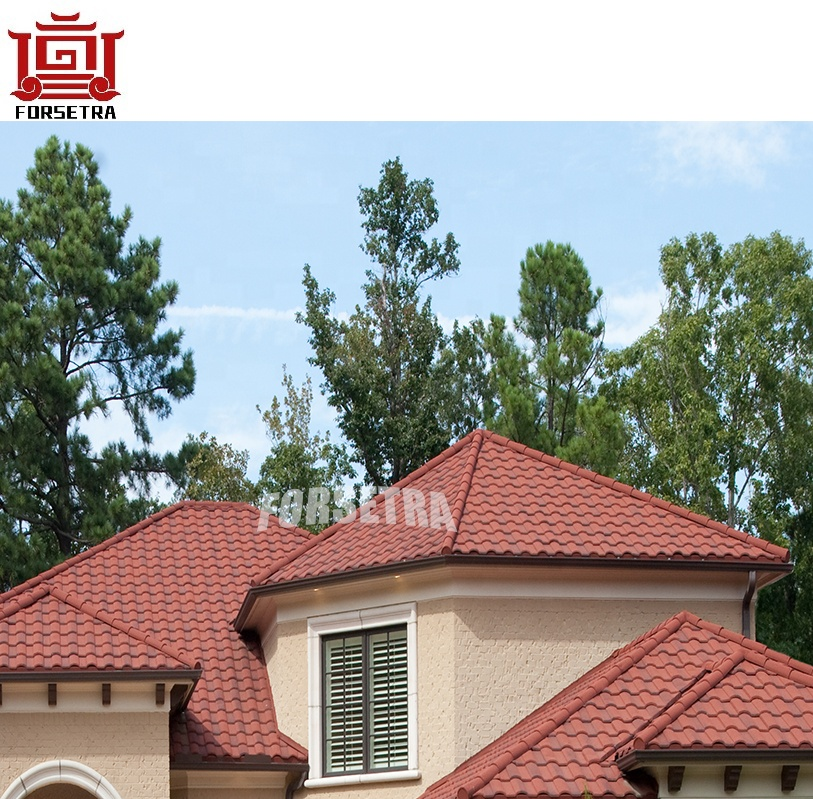 Lightweight Kerala Roofing Materials Sheet Metal Roofing Cheap French Tegula Roof Tile