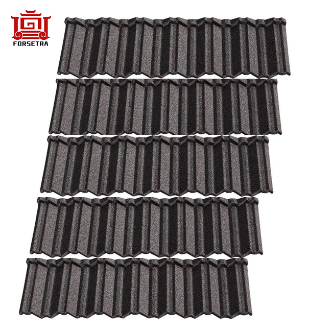 Popular Classical Tile in Nigeria Lagos Stone Coated Steel Aluminum Roofing Sheet