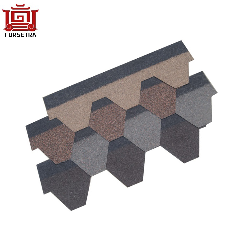 Cheaper Asphalt Shingles hot Sale Thailand / Vietnam / Philippines  Asphalt Roof Shingles Price for Luxury Villa