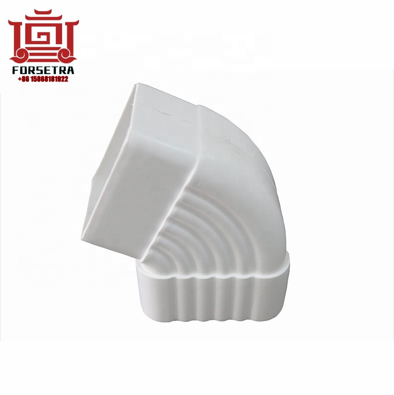 Kenya Hot Sale 5.2 Inch High Quality Plastic Decorative PVC Rain Gutter Malaysia