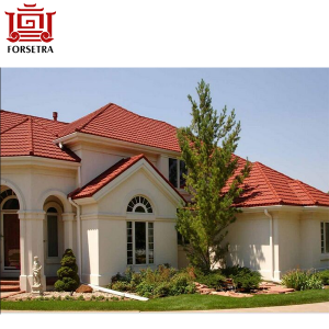Enjoy Your High Quality New Zealand Technology Stone Coated Roofing Sheet in Lagos