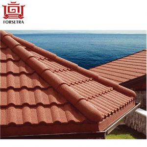 Milano Stone Coated Noise Reduction 50 Years Warranty Metal Roof Tile in Nigeria