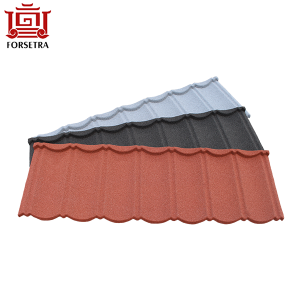 Hangzhou Price Quality Stone Coated Metal Roofing Sheet Used Low Price for Africa Nigeria