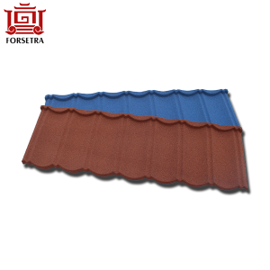Long Lifetime Anti-fade Stone Coated Roof Tile Factory With Best Price