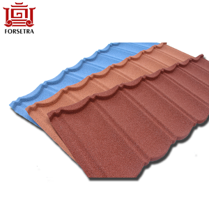 Philippines 50 Years Warranty Stone Coated Roofing Sheet From China
