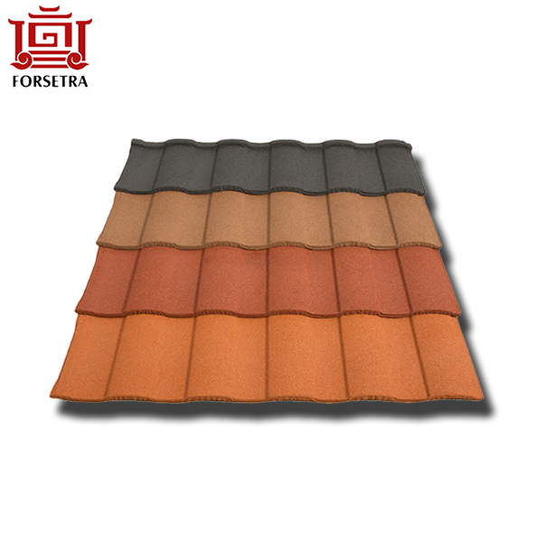Competitive Price 50 Years Guarantee Roman Type Modern Stone Coated Roofing Sheet Featured Image