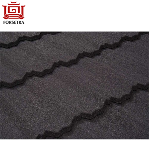 Top Quality Forsetra Stone Coated Antique Metal Roof Tiles Sheets for Abuja Africa