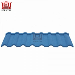Hangzhou tata Steel Roof Sheet Price 0.4mm Color Stone Coated Roof Tile Per Sheet Price