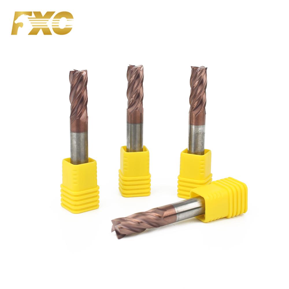 "4-flute,Long-length Square end 3//4/"" Carbide End Mill"