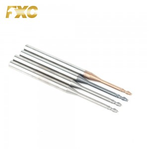 Coated Carbide 2 Flute Long Neck End Mill