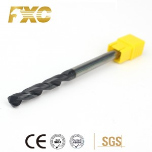 Solid Carbide Twist Drill Bits Milling Cutter Core Drills
