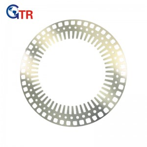 Stator stamping for Rail Transportation Motor