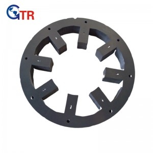 Stator stack for switch reluctance motor