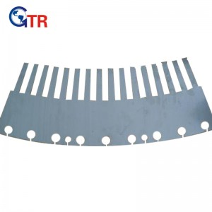 stator segment lamination for wind energy