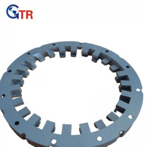 Stator core for switch reluctance motor