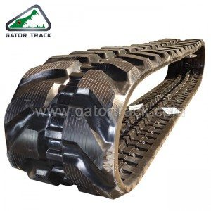 Rubber Tracks дорожки 400X72.5kw Экскаваторщик