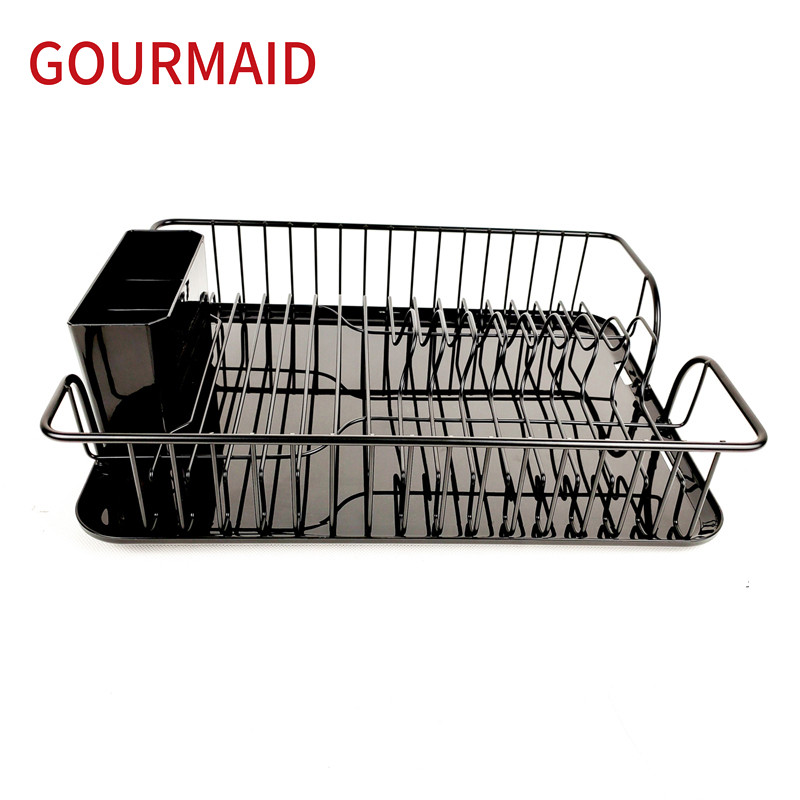Black Wire Dish Drainer Rack Featured Image