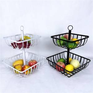Two Tier Fruit Storage Basket