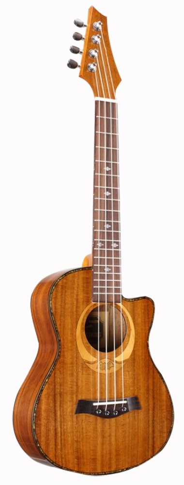 26 inche wholesale kirtani guitar Koa ukulele