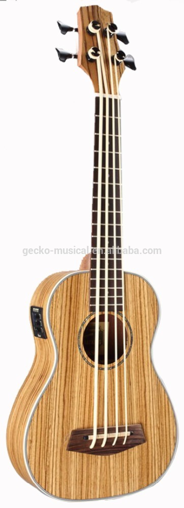 30 inche wholesale zebra itace ukulele da Eq