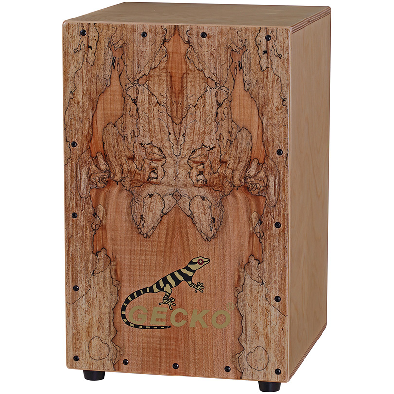 310*300*480MM Matt Finish Cajon Drum/Wooden Hand Drum crafted drum box musical in cajon for GECKO brand percussion instrument