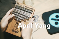 Perfect Ed Sheeran-GECKO Kalimba cover by April Yang