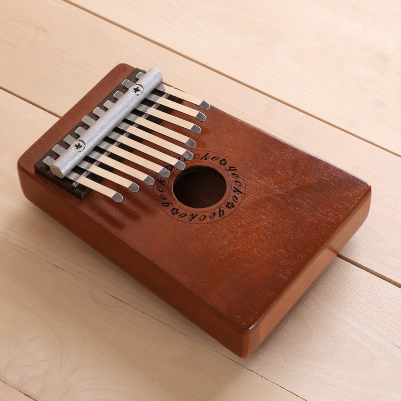 Africa Kalimba mkpịsị aka Piano 10 Notes mahogani Na Metal kalimba Percussion Instrument New