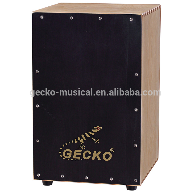 buy competitive steel string cajon drum with cajon pedal