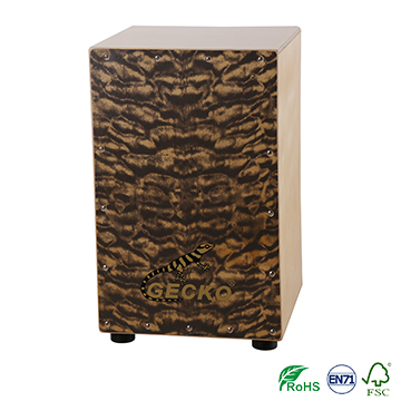 China handmade percussion imported birch wod cajon drum sets,crafted musical playing box jinbao drum sets