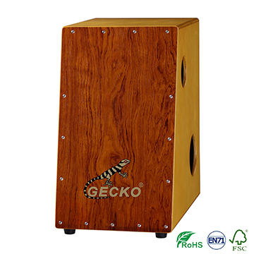 Gecko brand deep / wide bass drum set musical box trapezoid shape rosewood with special shape,drum shell