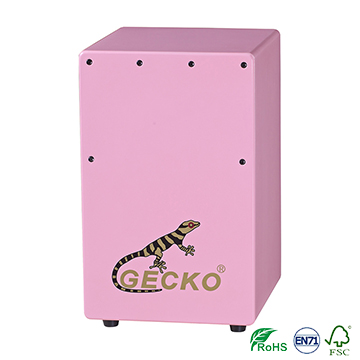 gecko ccolorful wooden cajon for kids Featured Image