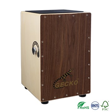 gecko CL50/CL50A China handmade professional cajon ,guitar snare string ,adjustable function drums kits