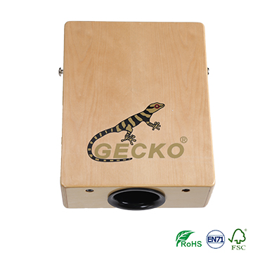 gecko travelling cajon,natural brich wooden cajon Featured Image