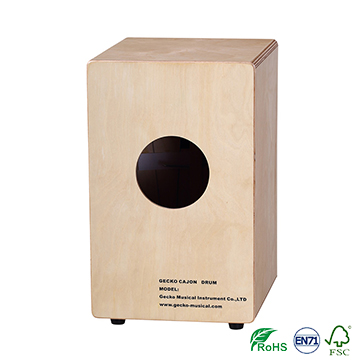 gecko wooden small cajon for kid