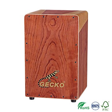 Handgemaakte Decals Patroon Cajon Percussion Box Hand Drum