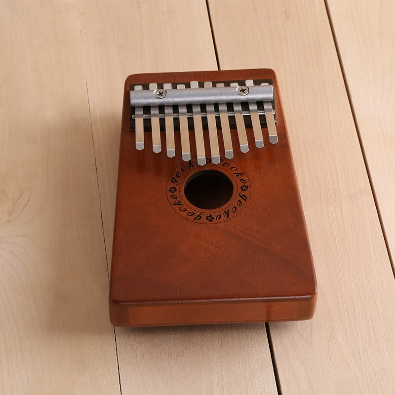 Hot 10 Keys Kalimba Mbira Likembe Sanza Thumb Piano Pine nature Instrument