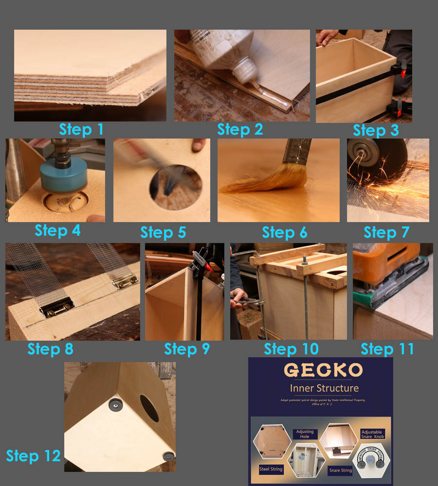 how to make a cajon drum | best cajon drum for sale | GECKO