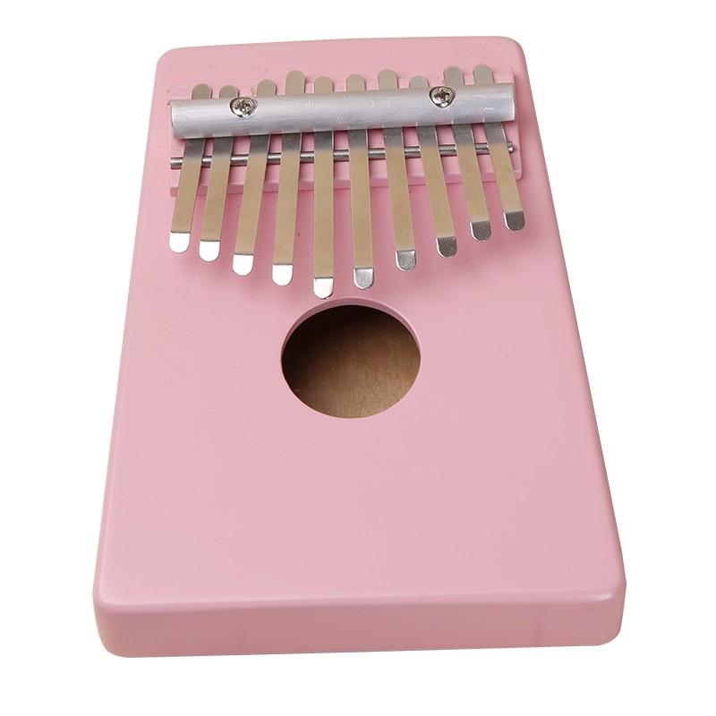 Kalimba Thumb Piano 10 Keys Tunable Coconut Shell Painted Musical Instrument free shipping