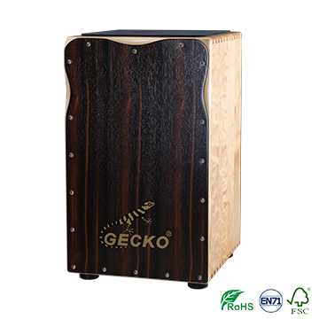 Matt-Finish Cajon Drum Holzhandtrommel GECKO CL98