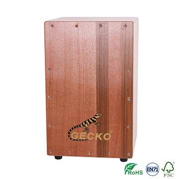 Matte Finish Tapping Cajon Drum on hot selling