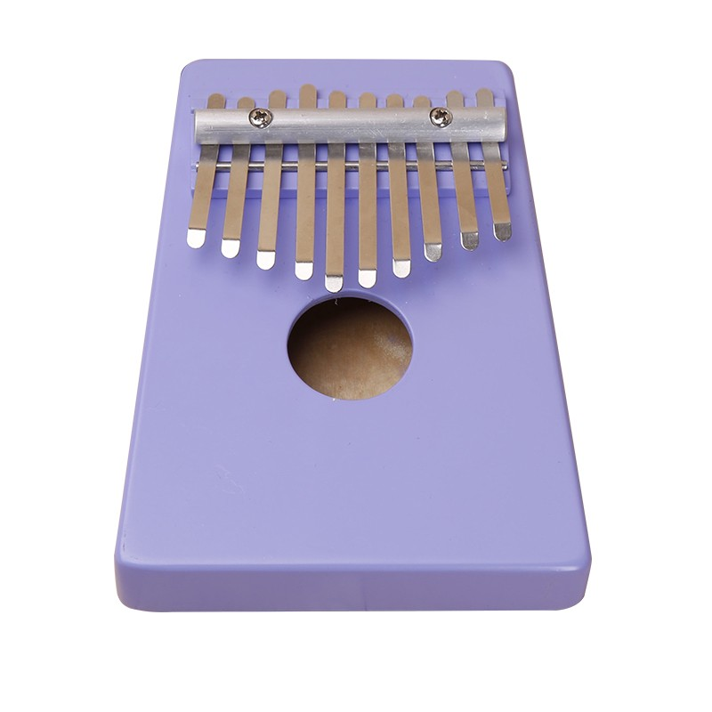 Natural 10 Keys Identified Kalimba Mbira Thumb Piano Traditional African Musical Instrument Portable Birch wood