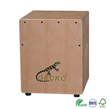 Īss Cajon Drum Factory Made un pārdot ar Gecko