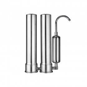 3 stage stainless steel water filter