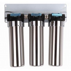 304 stainless steel UF water filter housing in 3 stage