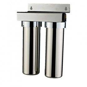 2 stage stainless steel pre-filtration UF water filter