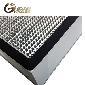 Aluminiozko Frame Deep pleat HEPA Box Air Filter